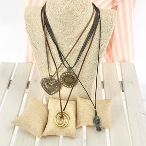 """4 Rope 16"""" to 30"""" Fashion Necklaces"""